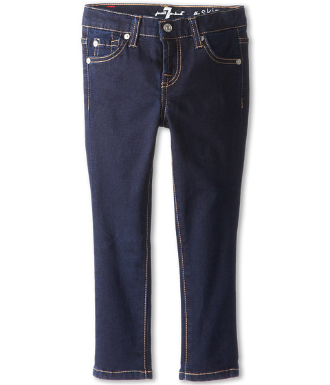 7 For All Mankind Kids Skinny Jean in Rinsed Indigo (Little Kids)