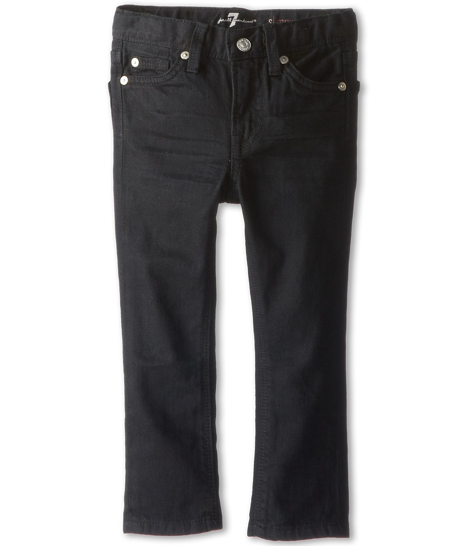 7 For All Mankind Kids - Slimmy Jean in Black Out