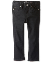 7 For All Mankind Kids - Slimmy Jean in Black Out (Toddler)