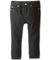 7 For All Mankind Kids - Slimmy Jean in Black Out (Infant)