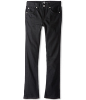 7 For All Mankind Kids - Slimmy Jean in Black Out (Big Kids)