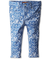 7 For All Mankind Kids - Skinny Jean in Moroccan Blue Jacquard (Infant)