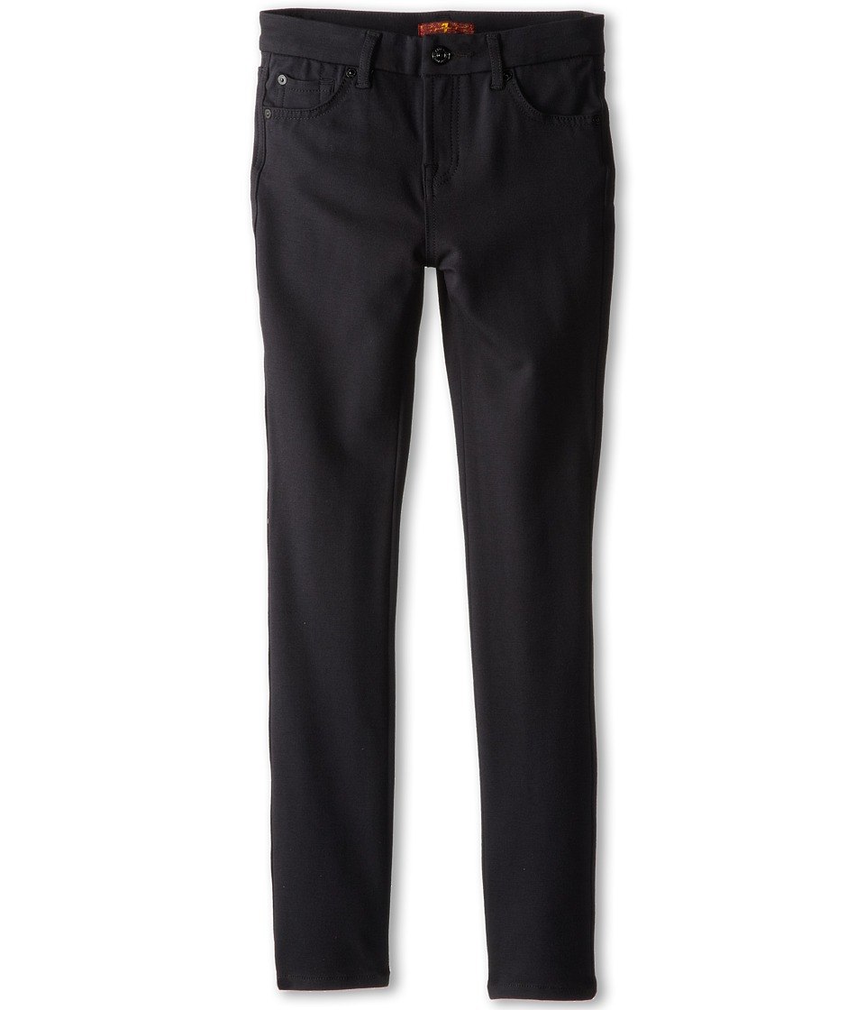 7 For All Mankind Kids - Skinny Jean in Black Ponte Knit