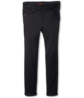 7 For All Mankind Kids - Skinny Jean in Black Ponte Knit (Little Kids)