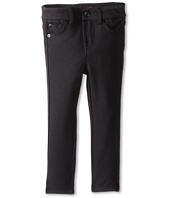 7 For All Mankind Kids - Skinny Jean in Black Ponte Knit (Toddler)
