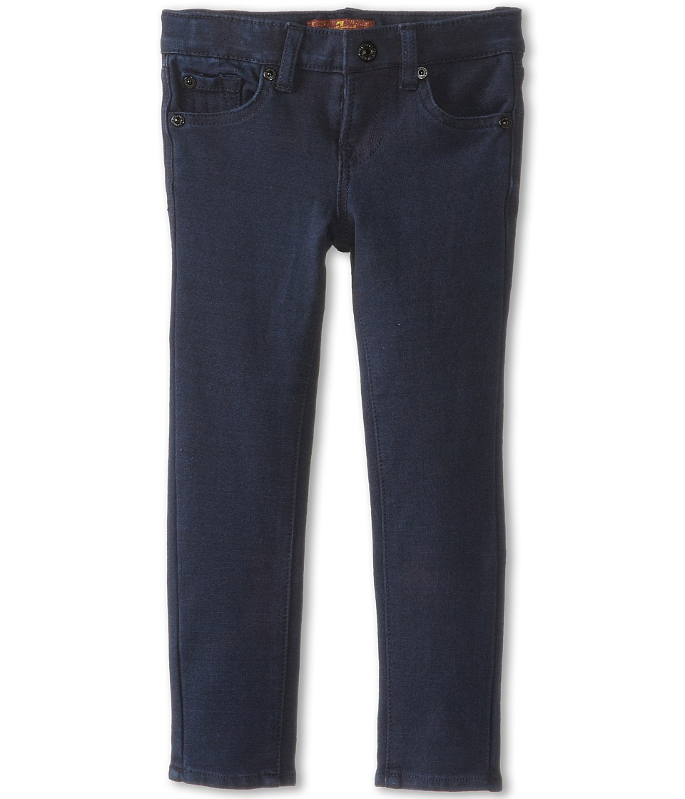 7 For All Mankind Kids - Skinny Jean in Indigo Ponte Knit