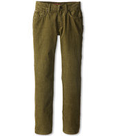 7 For All Mankind Kids - Standard Corduroy Jean in Olive (Big Kids)
