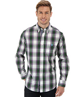 U.S. POLO ASSN. - Plaid Button Down Poplin Long Sleeve Shirt