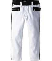 Hudson Kids - White Riot Two-Tone Skinny (Little Kids)