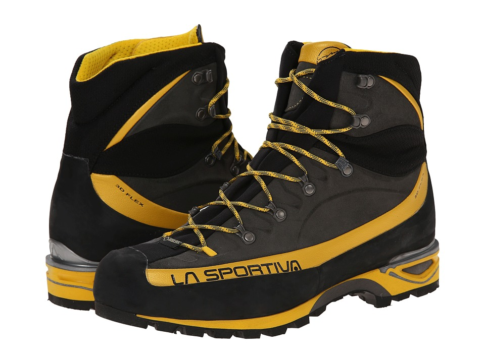 La Sportiva Trango Alp Evo GTX Grey/Yellow Mens Hiking Boots