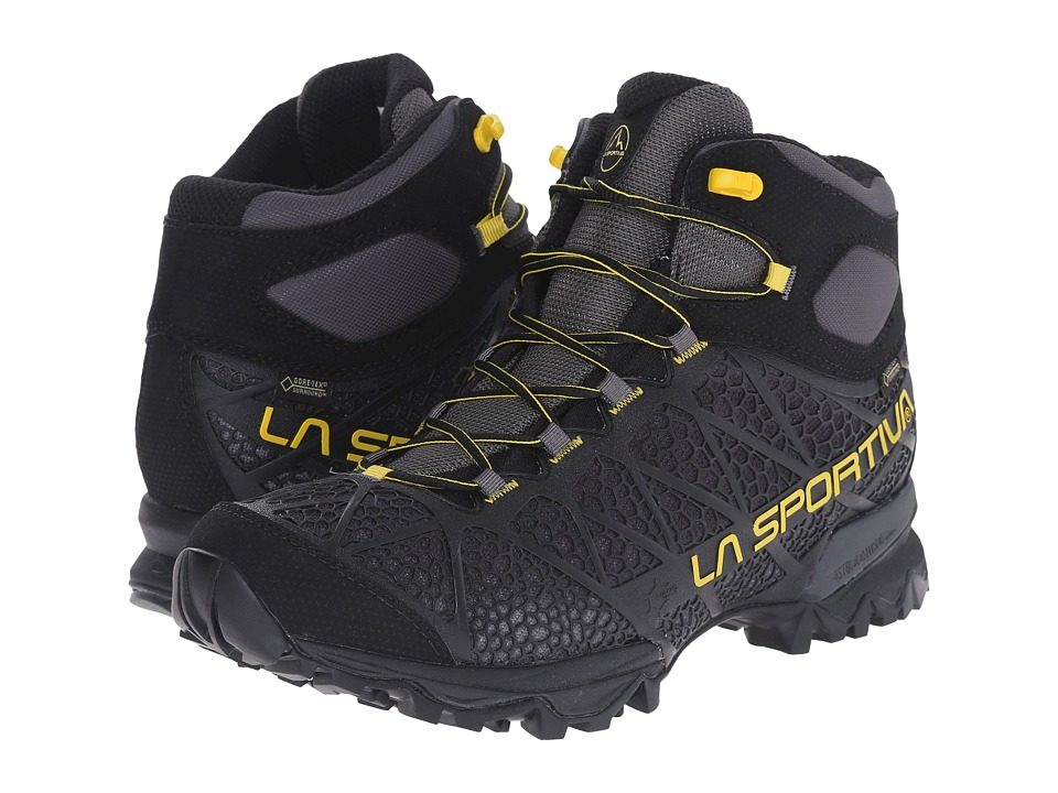 La Sportiva Core High GTX Black/Yellow Mens Shoes