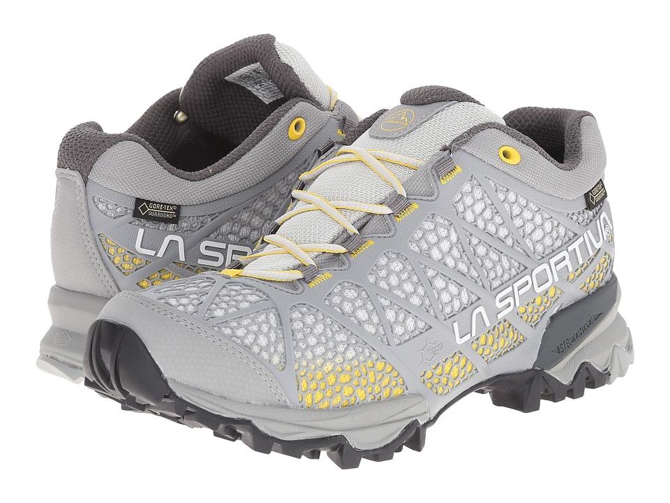 La Sportiva Primer Low GTX Yellow/Mid Grey Womens Shoes