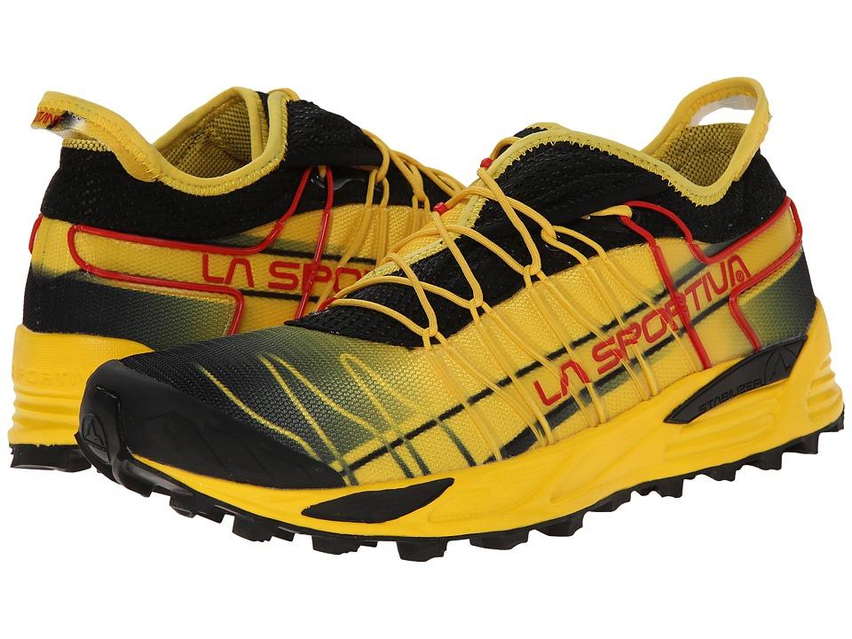 La Sportiva Mutant Black/Yellow Mens Shoes