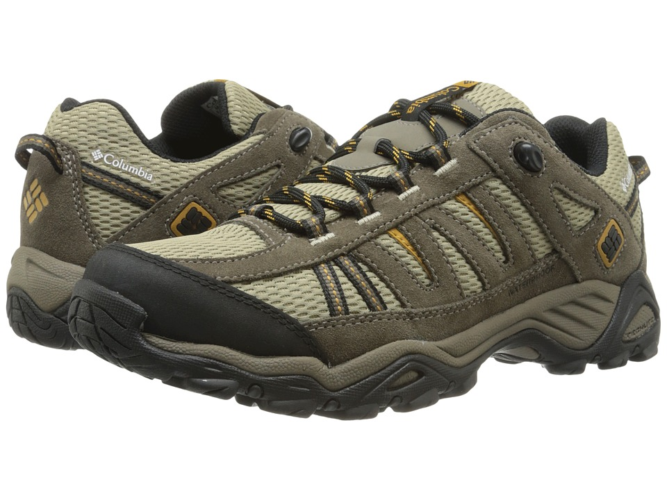 Columbia - North Plains WP (Verdant/Caramel) Men's Hiking Boots