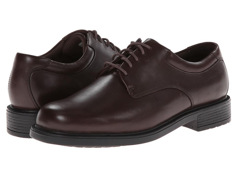 Rockport - Big Bucks Margin (Chocolate Leather) Mens Dress Flat Shoes