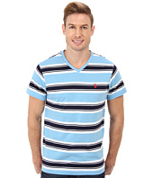 U.S. POLO ASSN. - Short Sleeve Crew Neck Striped T-Shirt