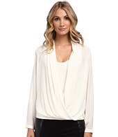NYDJ - Drape Front Blouse with Fit Solution Tank