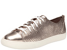 Cole Haan Hendrix Lace Sneaker (Champagne Metallic Snake Embossed)