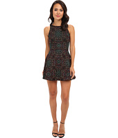KAS New York - Kalina Embroidered Fit N Flare Dress