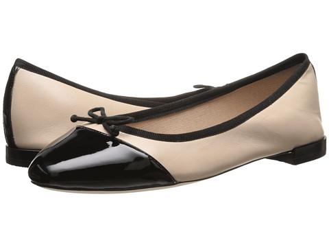 Cole Haan Sarina Ballet (Washed Indigo Snake Embossed/Patent) Women's Flat Shoes
