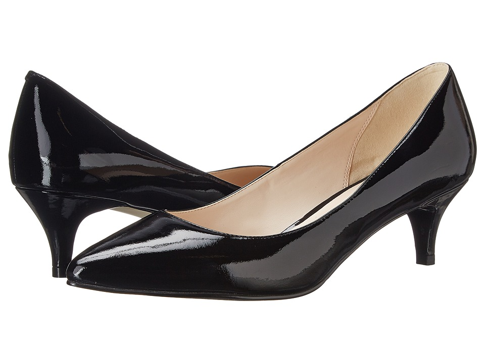 Cole Haan - Juliana Pump 45mm (Black Patent) Womens 1-2 inch heel Shoes