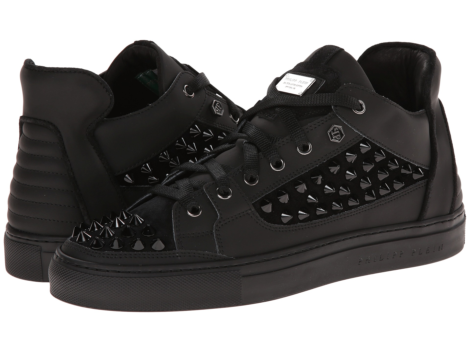 philipp plein peter sneakers shoes shipped free at zappos. Black Bedroom Furniture Sets. Home Design Ideas