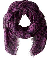Calvin Klein - Leopard Spots Crepe Wrap