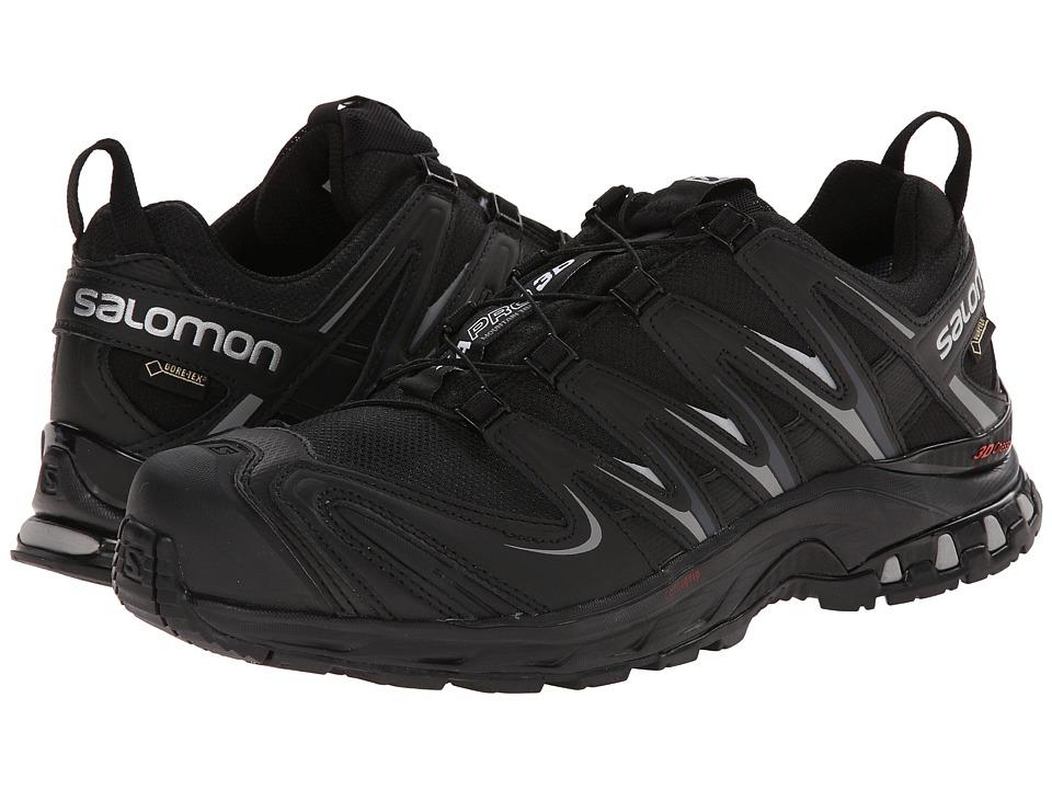 Salomon - XA PRO 3D GTX (Black/Black/Pewter) Mens Shoes