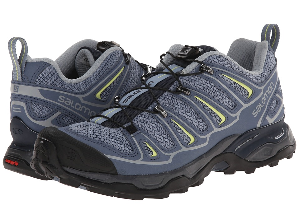 Salomon - X Ultra 2 (Stone Blue/Bleu Gris/Flashy-X) Womens Shoes
