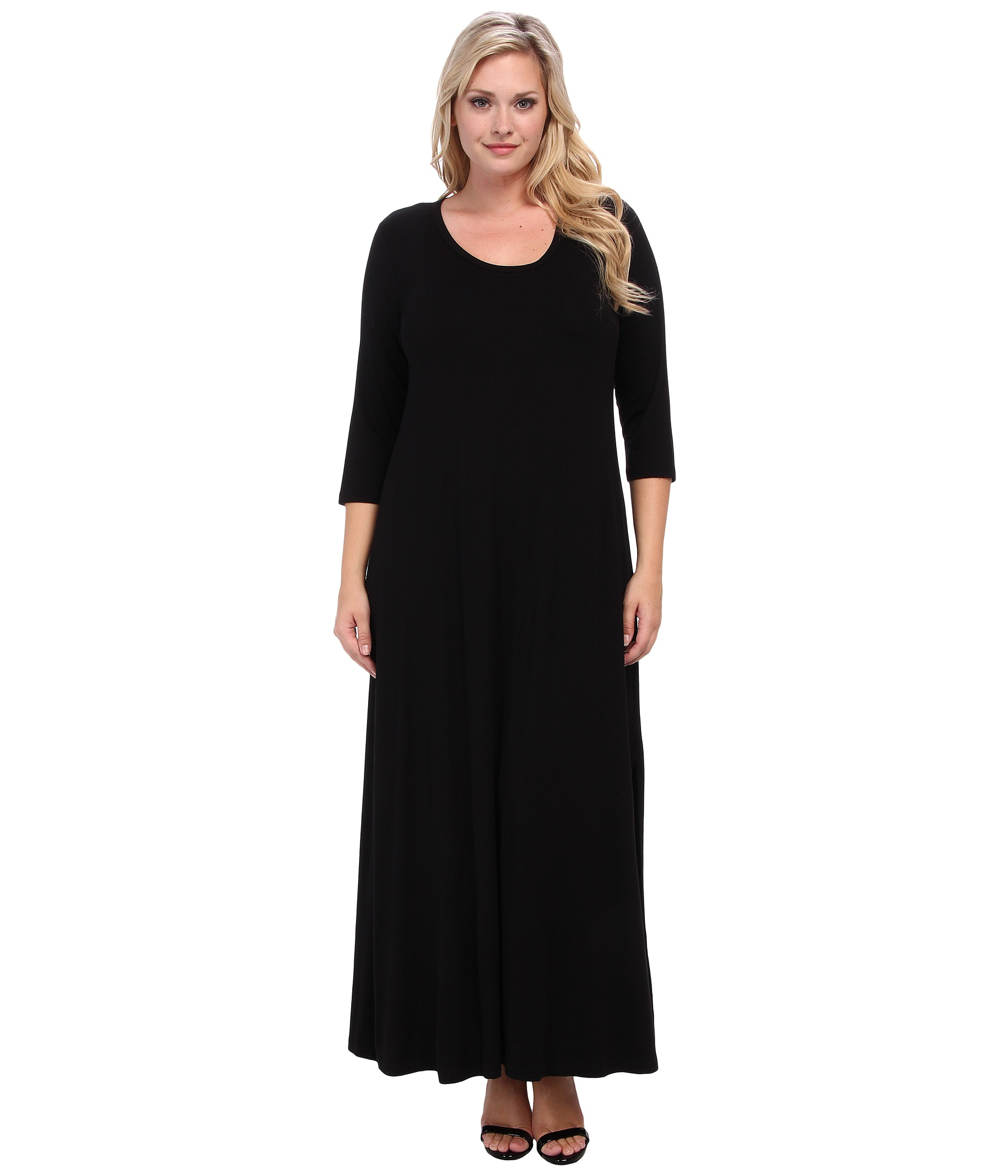 Dillards Plus Size Designer Women's Clothing Plus Size Long Sleeve Maxi