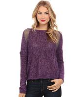 DKNY Jeans - Yarn Mix Intarsia Pullover