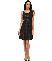 NYDJ - Charlie Coated Houndstooth Dress