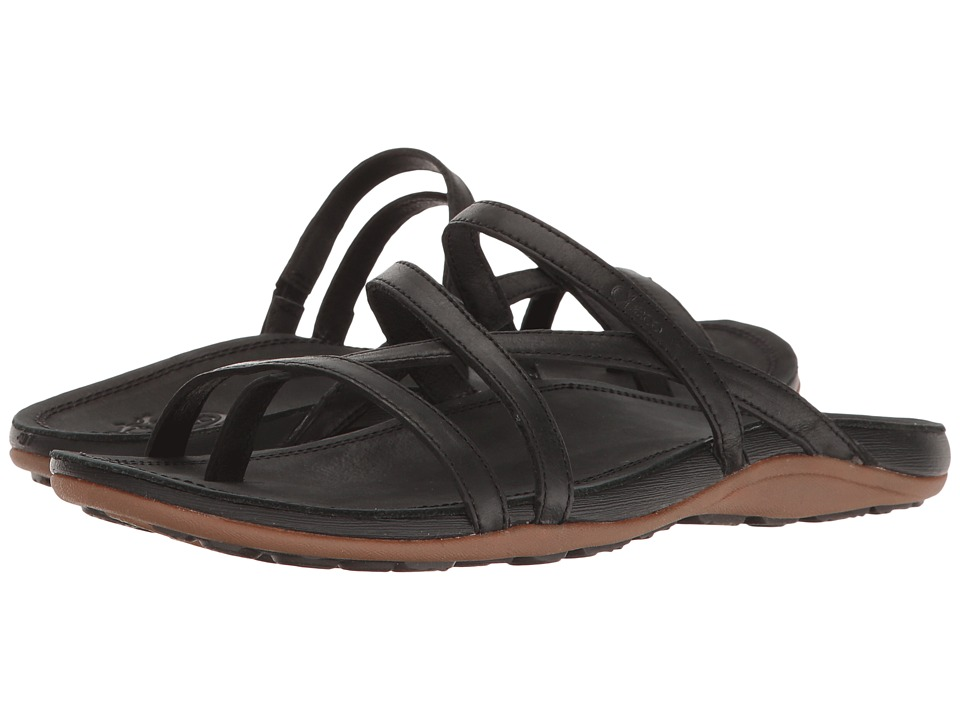 Chaco Cordova Black Womens Sandals