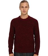 Vince - L/S Raglan Crew Sweater w/ Rib Details
