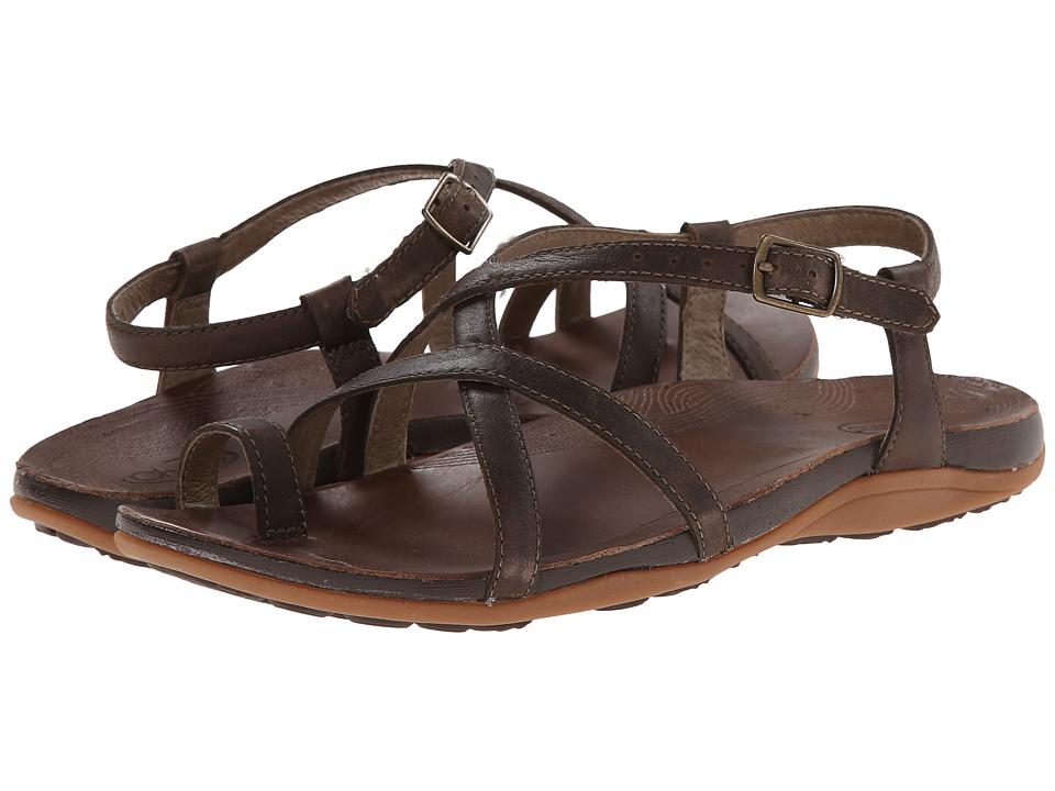 Chaco Dorra Dark Earth Womens Sandals