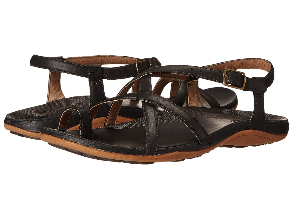 Chaco Dorra Black Womens Sandals