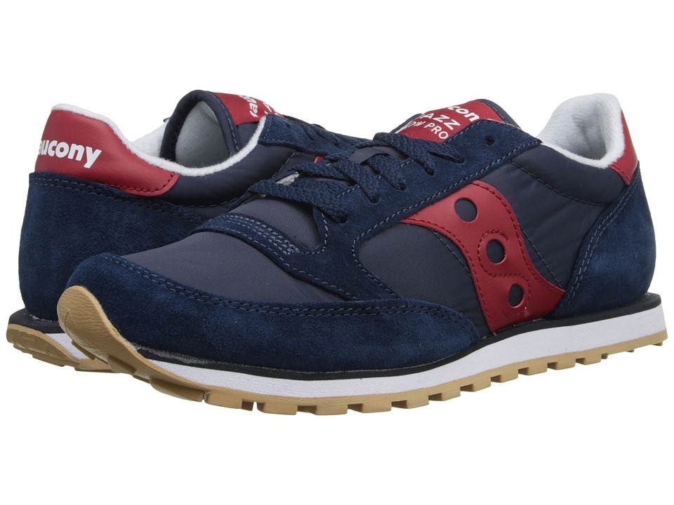 Saucony Originals - Jazz Low Pro (Navy/Red) Men
