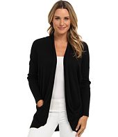 DKNY Jeans - Solid Two-Pocket Cardigan