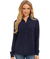Christin Michaels - 100% Silk Button Down Blouse