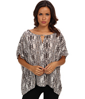 Christin Michaels - 100% Silk Poncho