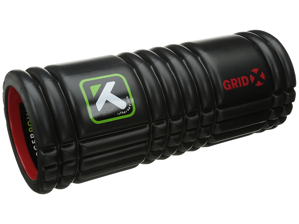 TriggerPoint - GRID X Foam Roller (Black) Athletic Sports Equipment