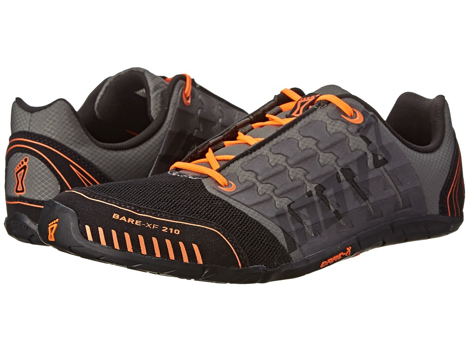 inov 8 Bare XF 210 Thyme/Black/Orange Mens Running Shoes