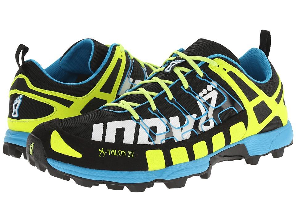 inov-8 X-Talon 212 (Black/Yellow/Blue) Running Shoes