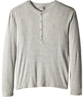 Calvin Klein Jeans - L/S Rib Henley Mixed Media
