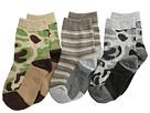 Jefferies Socks Camo Stripe Crew Socks 3 Pack (Infant/Toddler/Little Kid/Big Kid)