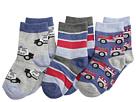 Jefferies Socks - Rescue Vehicles 3 Pack (Infant/Toddler/Little Kid)