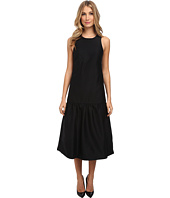 tibi - Sleeveless Open Back Long Dress