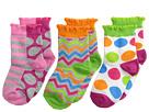 Chevron Dot/Stripe Sock 3 Pack (Infant/Toddler/Little Kid/Big Kid)