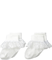 Jefferies Socks - Snow Queen Lace 2 Pack (Infant/Toddler/Little Kid/Big Kid)