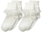 Jefferies Socks Snow Queen Lace 2 Pack (Infant/Toddler/Little Kid/Big Kid)
